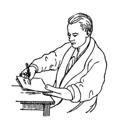 Writing with amputation