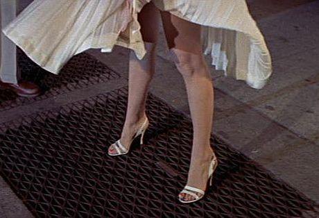 Marilyn Monroe Upskirt